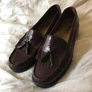 Bass Shoes -  GH Bass Orig Weejuns Penny Loafers, 7W, Oxblood